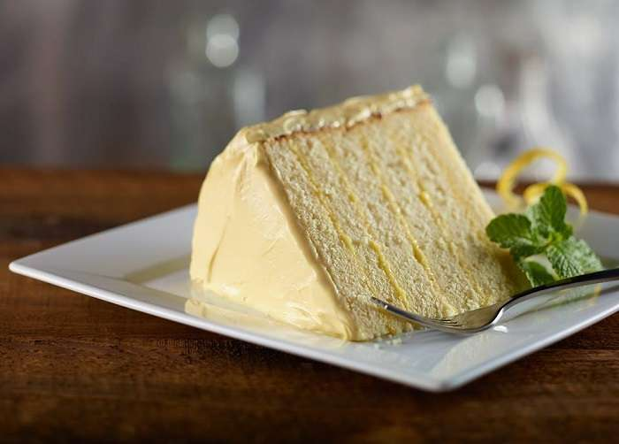 Del Frisco's Grille Lemon Cake