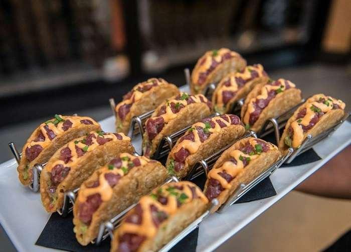 Del Frisco's Grille Tacos