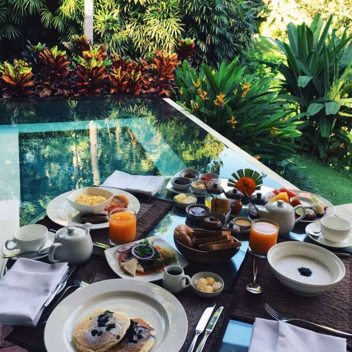 FOUR SEASONS UBUD VILLA BREAKFAST 2