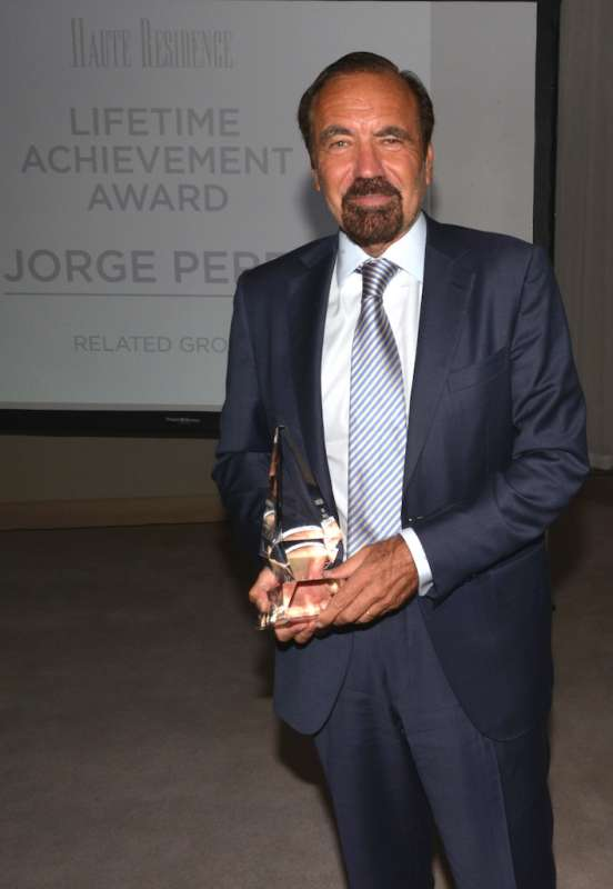 Jorge Perez Lifetime Achievement Award