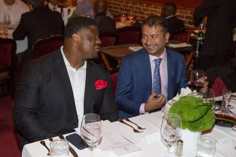 Clinton McDonald and Kamal Hotchandani