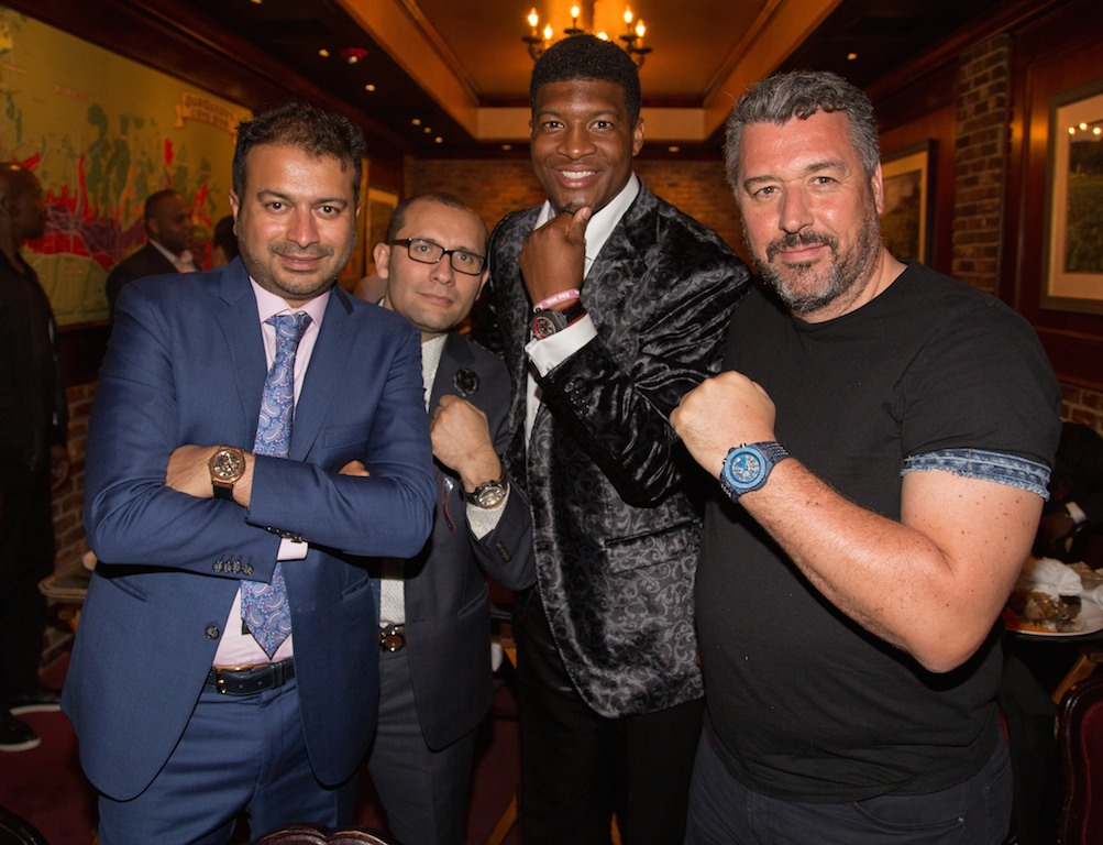 Kamal Hotchandani, Jameis Winston and Rick De La Croix