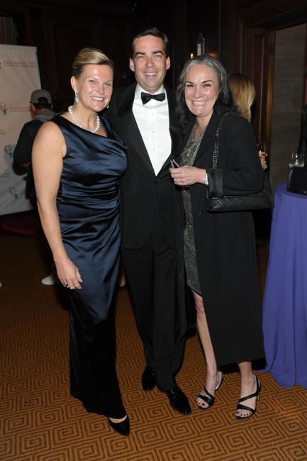 Kirsten Zeiss, Christophe Zeiss, Majo Fruithof Humer== INT'L CENTRE FOR MISSING & EXPLOITED CHILDREN 2016 GALA FOR CHILD PROTECTION== Gotham Hall, NYC== May 5, 2016== ©Patrick McMullan== Photo- Owen Hoffmann/PMC== ==