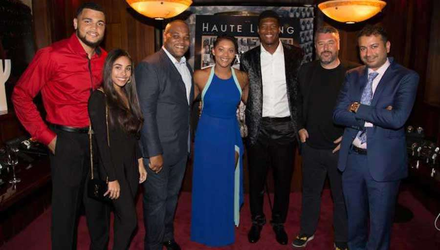 Haute Living Supports the Juvenile Diabetes Research Foundation with Jameis Winston