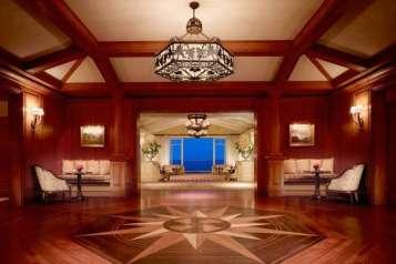 Lobby, evening