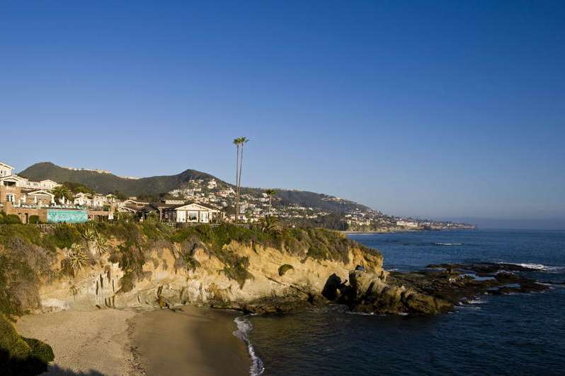 Montage Laguna Beach resort and coastline