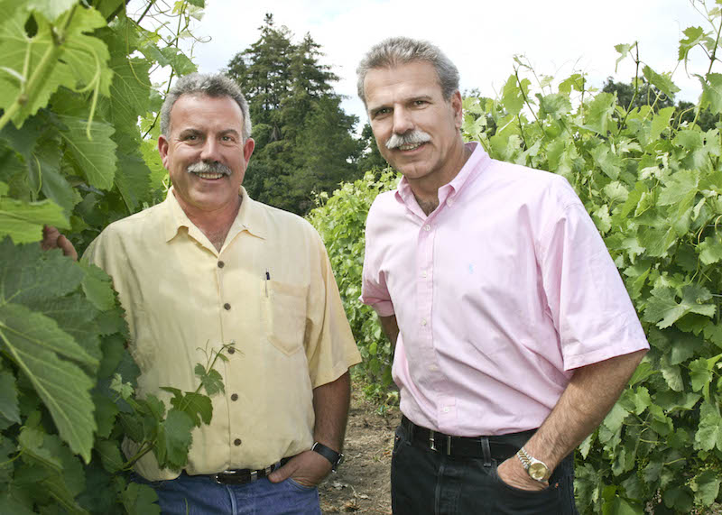 Marc Mondavi and Peter Mondavi Jr.
