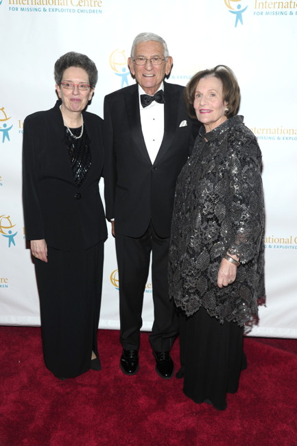 Maura Harty, Eli Broad, Edye Broad==INT'L CENTRE FOR MISSING & EXPLOITED CHILDREN 2016 GALA FOR CHILD PROTECTION==Gotham Hall, NYC==May 5, 2016==©Patrick McMullan==Photo- Owen Hoffmann/PMC====
