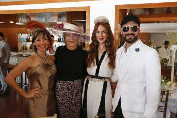Michelle Areces Zandy, Yolanda Berkowitz, Athina Marturet & Harry Levy