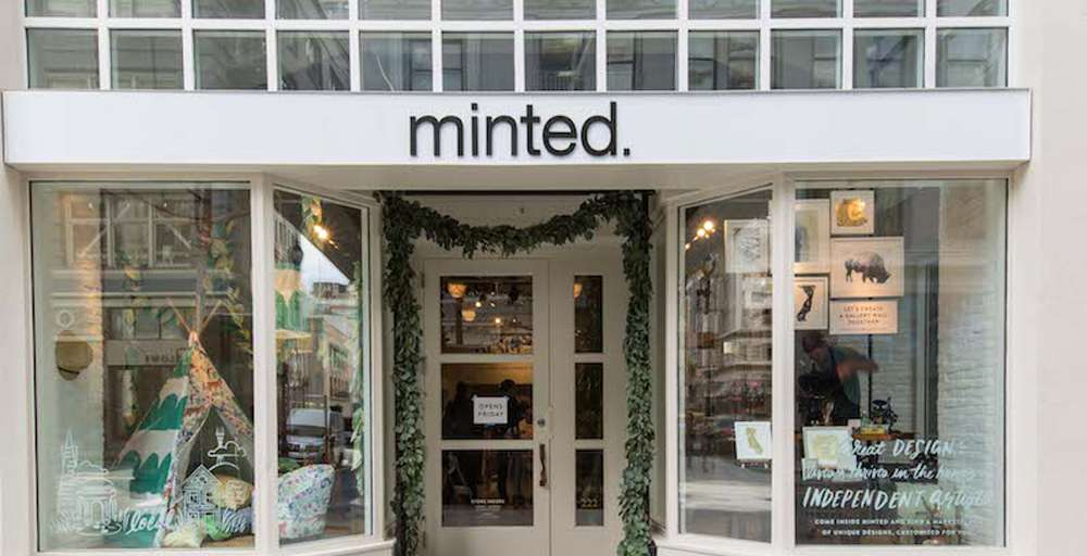 Minted Opens San Francisco Pop-Up With Packed Party
