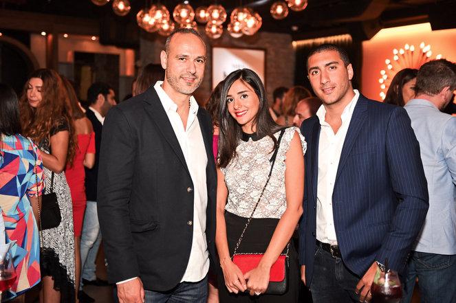 Nassim Habib, Elida Younes, Ahmed Ibrahim.