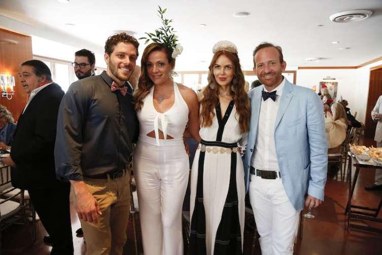 Naim Zarzour, Antonella Biasillo, Athina Marturet & Georgio Ferrera