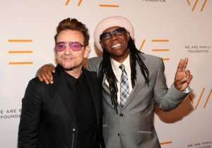 Bono and Nile Rodgers