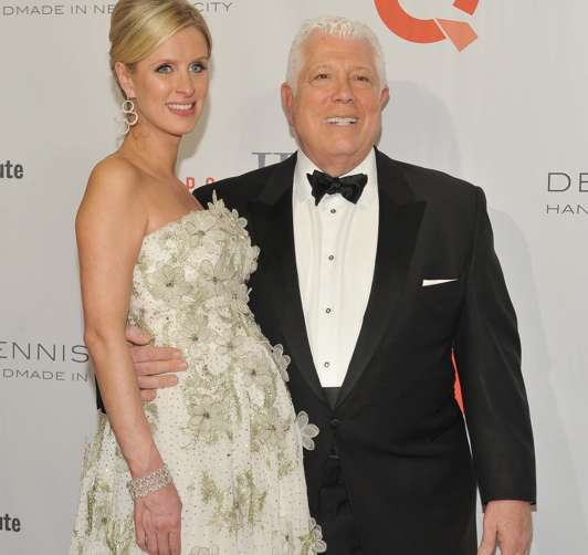 Nicky Rothschild (L) and Dennis Basso attend FIT's Annual Gala  at The Plaza Hotel.  (Photo by D Dipasupil/Getty Images for FIT)