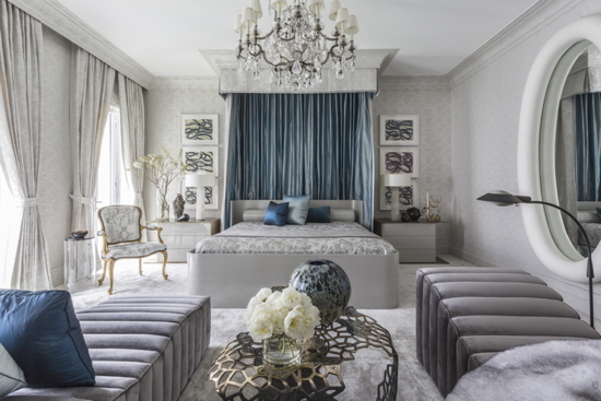 The Drake+Anderson bedroom for this year's Kip's Bay Decorator Showhouse.