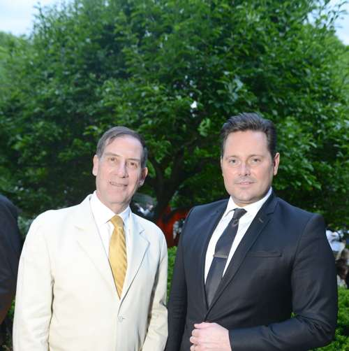 Ian Wardropper and Mark Briggs. Photo: BFA