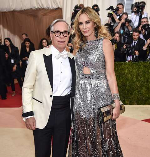 "Tommy Hilfiger and Dee Ocleppo attend the ""Manus x Machina: Fashion In An Age Of Technology"" Costume Institute Gala at Metropolitan Museum of Art on May 2, 2016 in New York City. (Photo by Dimitrios Kambouris/Getty Images)"