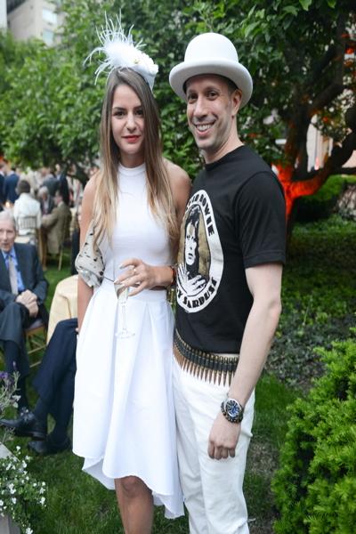 Samara Bliss and Jared Longhitano. Photo: BFA