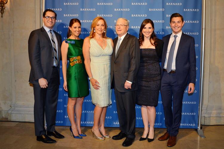 Josh Milstein, Toby Milstein, Cheryl Milstein, Philip Milstein, Meredith Milstein, Larry Milstein= Gala honoring the Milsteins==