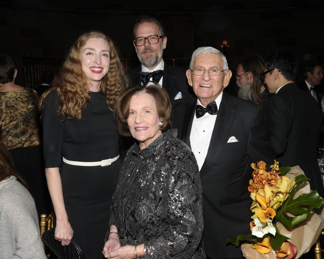 Rachel Feinstein, John Currin, Edye Broad, Eli Broad== INT'L CENTRE FOR MISSING & EXPLOITED CHILDREN 2016 GALA FOR CHILD PROTECTION== Gotham Hall, NYC== May 5, 2016== ©Patrick McMullan== Photo- Owen Hoffmann/PMC== ==