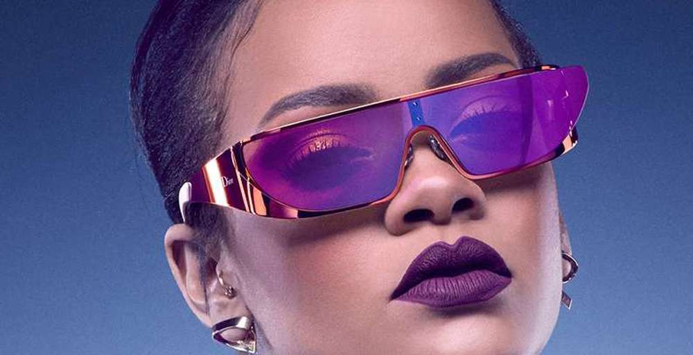 Rihanna Designs Futuristic Sunglasses for Dior