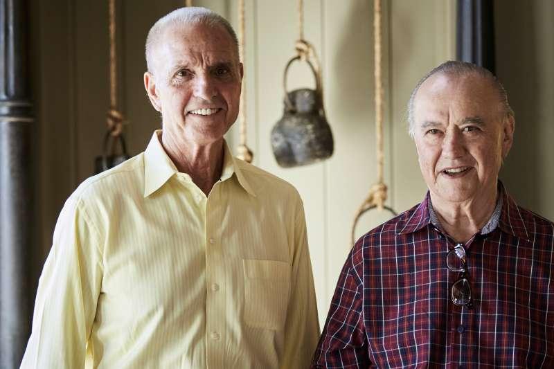 Roger Trinchero, president and CEO of Trinchero Family Estates, and Bob Trinchero, Sr.