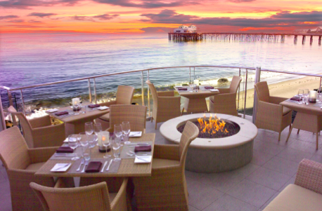 The Carbon Beach Club at the Malibu Beach Inn