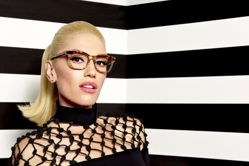 b227789d99 A Q A with Gwen Stefani on Her New Eyewear Collection and Upcoming ...