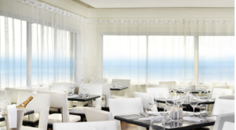 THE PENTHOUSE RESTAURANT AT THE HUNTLEY