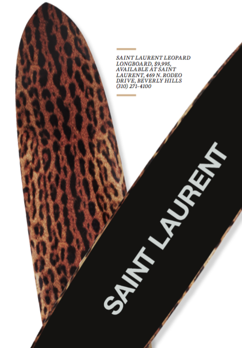 saint laurent surfboards
