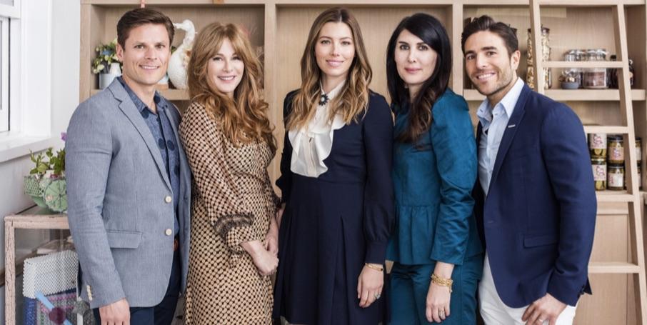 Au Fudge founders Jonathan Rollo, Kimberly Muller, Biel, Estee Stanley and Joey Gonzalez