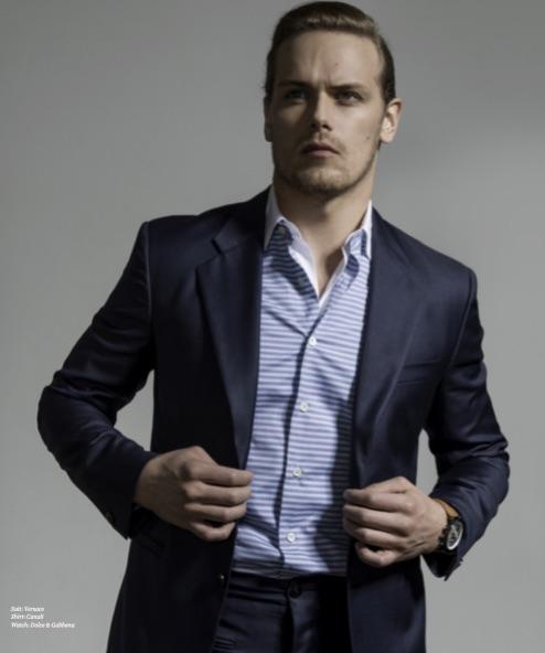 Suit: Versace Shirt: Canali Watch: Dolce & Gabbana