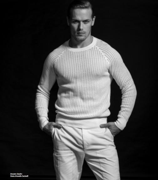 Sweater: Sandro Pants: Brunello Cucinelli