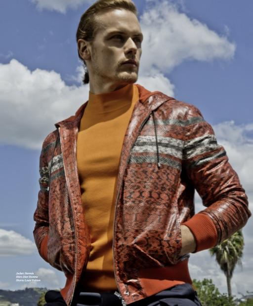 Jacket: Hermés Shirt: Dior Homme Shorts: Louis Vuitton