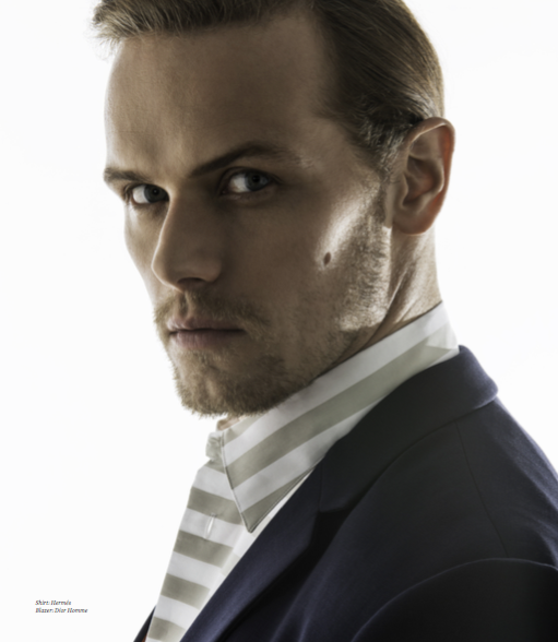 Shirt: Hermés Blazer: Dior Homme