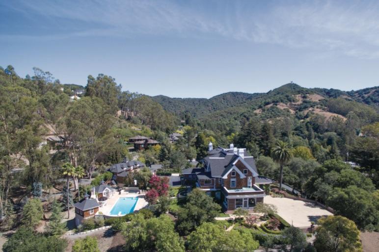 The 2 acre San Rafael estate