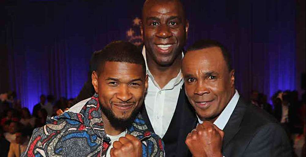 Sugar Ray Leonard Hosts Star-Studded Charity Boxing Night