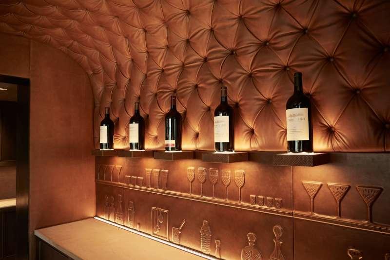 VIP Bar at Trinchero Napa Valley's new Tasting Room