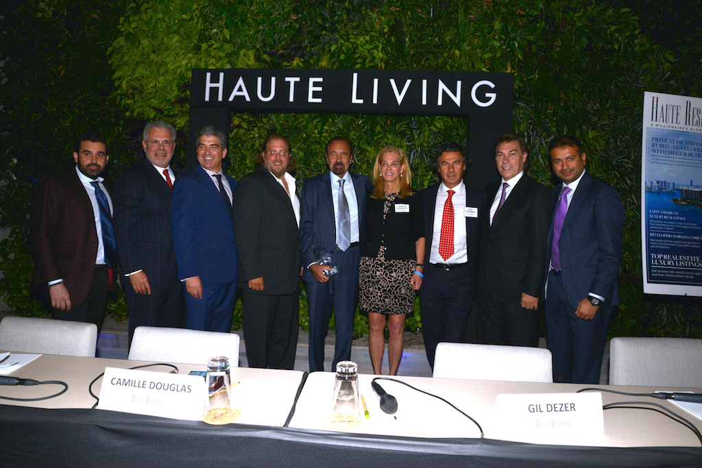 Visionary Developers at Haute Residence Miami Real Estate Summit at 1 Hotel & Homes