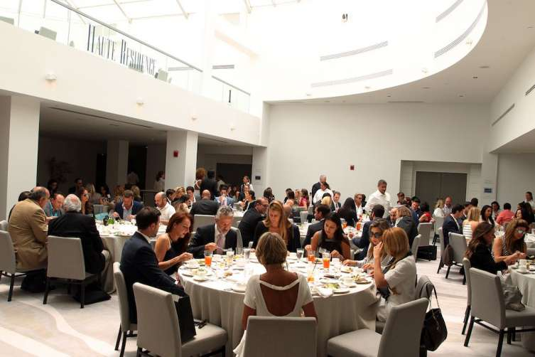 Lunch at the Haute Residences Miami Luxury Real Estate & Design Summit