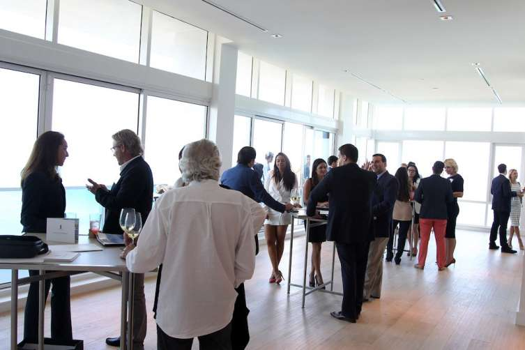 Cocktail Closing Party of the Haute Residences Miami Luxury Real Estate & Design Summit