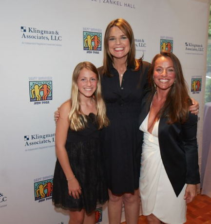 Savannah Guthrie and guests