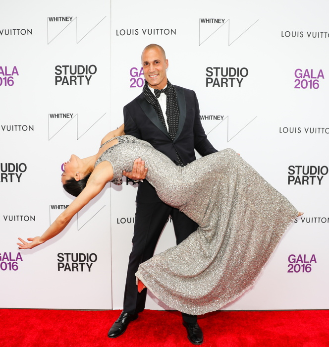 Cristen Barker and Nigel Barker