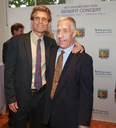 Anthony Shriver and guest