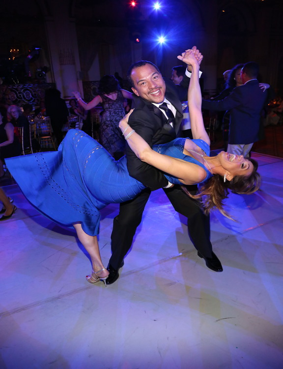 Eduardo Vilaro, Lili Estefan== Ballet Hispanico 2016 Carnaval Gala Celebrating 45 years of changing lives through dance== The Plaza Hotel, NYC== May 16, 2016== ©Patrick McMullan== Photo: Sylvain Gaboury/PMC== ==