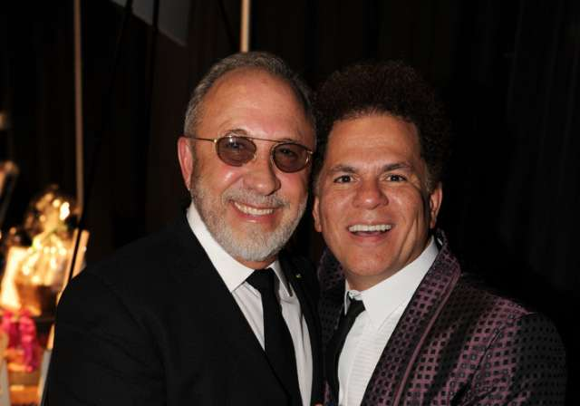 Emilio Estefan and Romero Britto