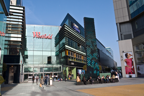 Westfield London, site of upcoming Vogue Cafe pop-up