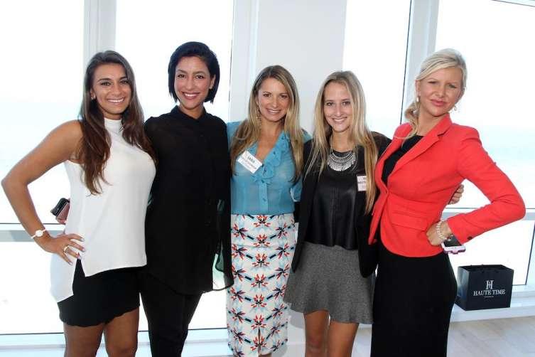 Rachel Goldstein, Violeta Camacho, Sara Kallus-Svoboda, Paige Mastrandrea, April Donelson