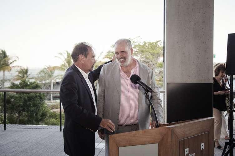 Jorge Pérez & Pablo Atchugarry