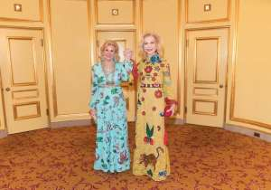 Dede Wilsey and Lynn Wyatt.